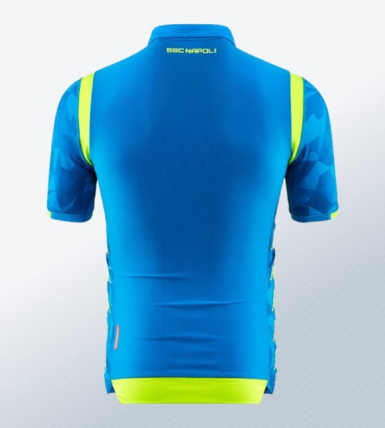 Camiseta titular Kappa del Napoli UCL 2018/19 | Imagen Web Oficial