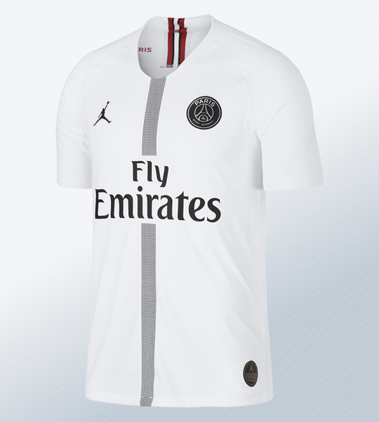 Camiseta Jordan del PSG 2018/19 Blanca | Imagen Nike