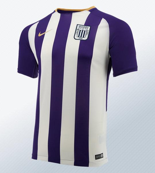 "Camiseta Nike ""blanquimorada"" de Alianza Lima 2018 | Foto Marathon"