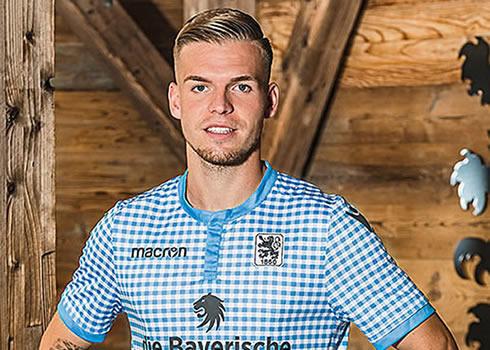 Oktoberfest trikot Macron del TSV 1860 Munich 2018   Imagen Web Oficial