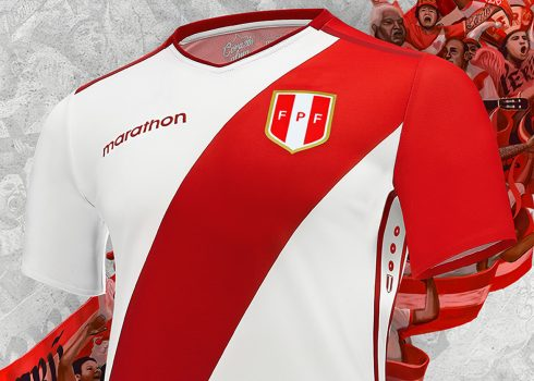 Camiseta titular Marathon de Perú 2018/19 | Imagen FPF