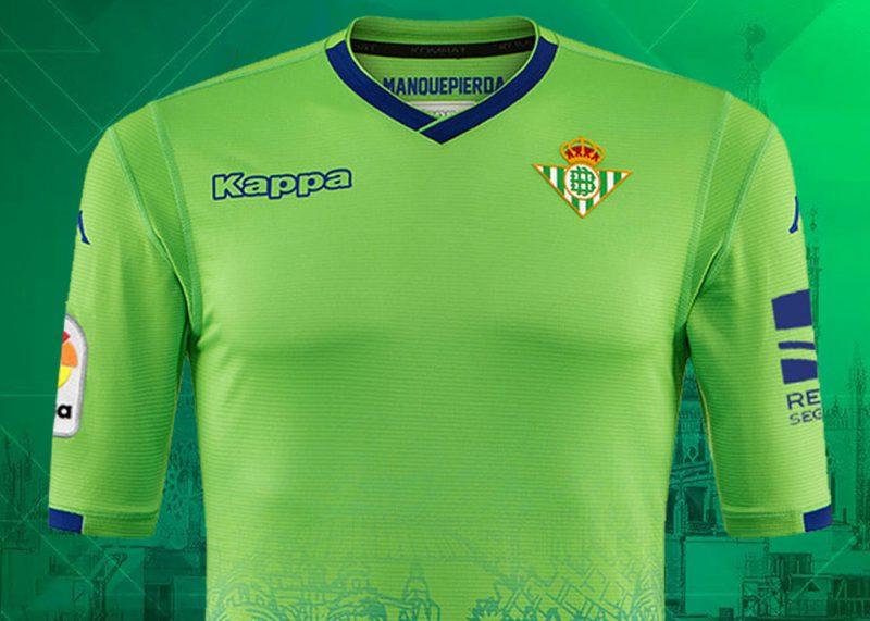 Tercera camiseta Kappa 2018/2019 del Betis | Imagen Web Oficial