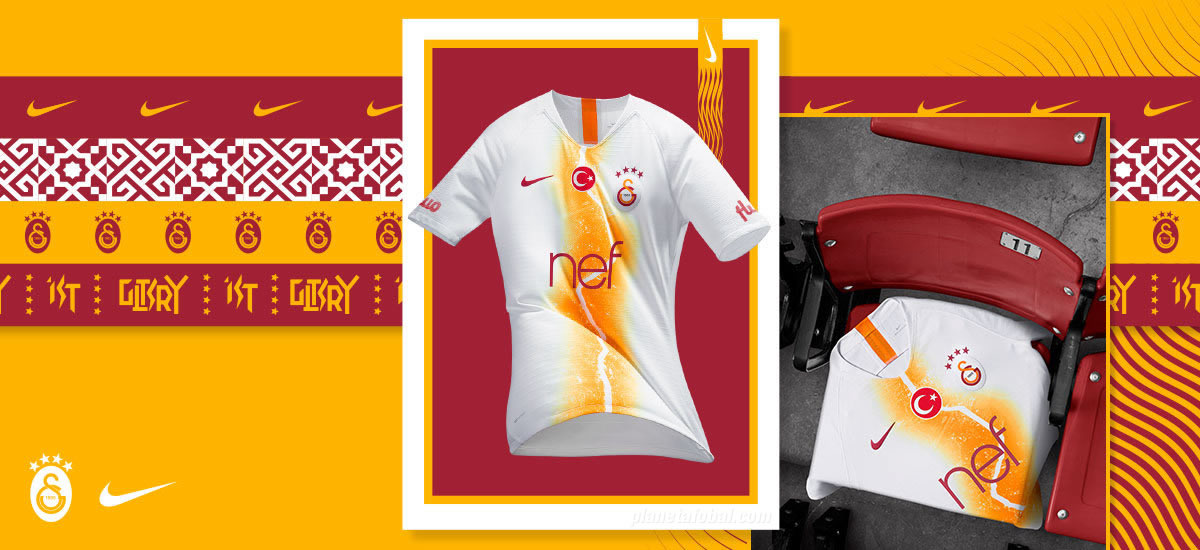 Tercera camiseta Nike del Galatasaray 2018/19 | Imagen Web Oficial
