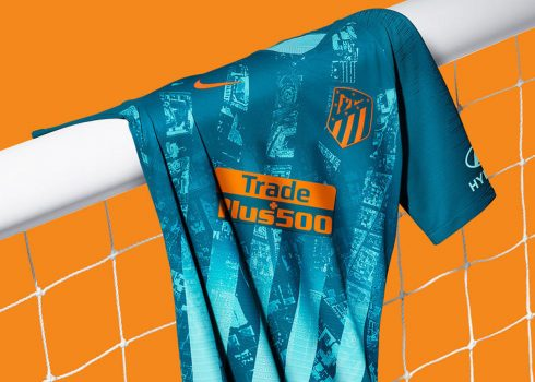 Tercera camiseta del Atlético de Madrid 2018/2019 | Imagen Nike