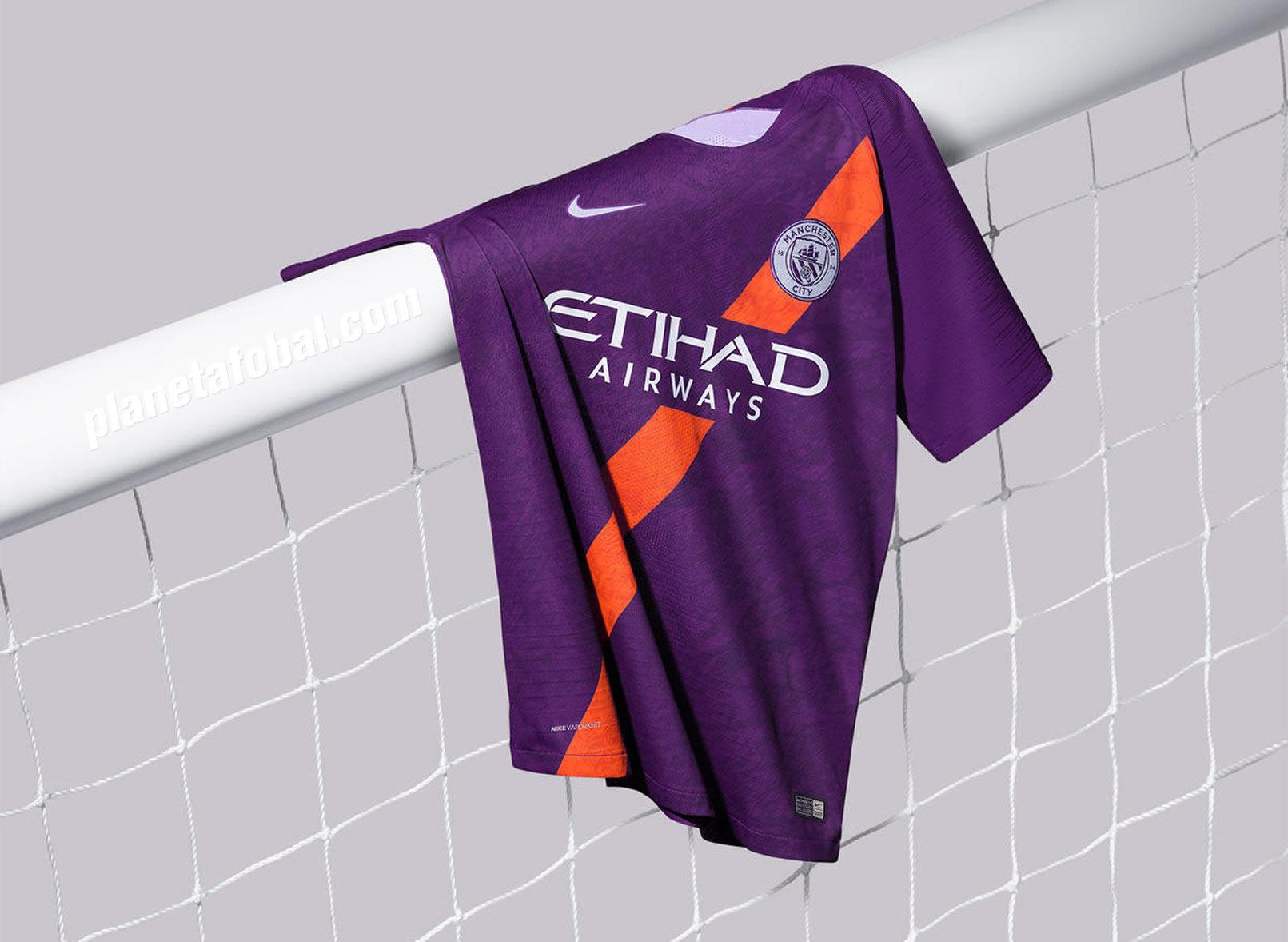Tercera camiseta del Manchester City 2018/2019 | Imagen Nike