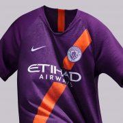 Tercera camiseta del Manchester City 2018/2019   Imagen Nike