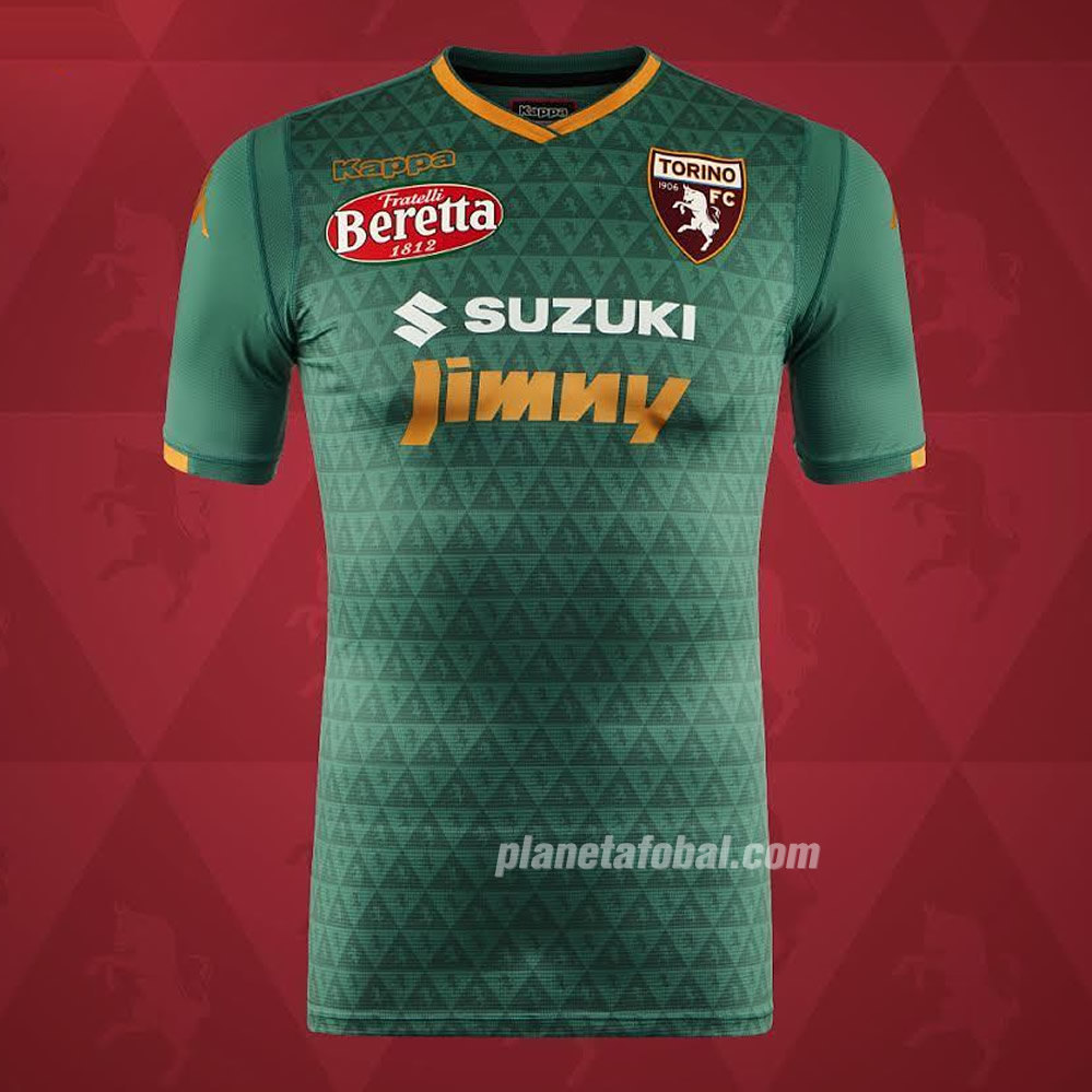 Tercera camiseta Kappa del Torino 2018/19 | Imagen Web Oficial
