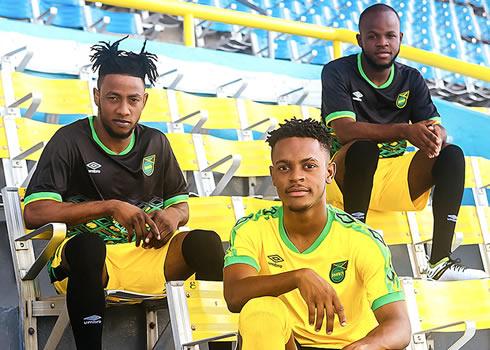 Camisetas de Jamaica 2018/2019 | Imagen Umbro