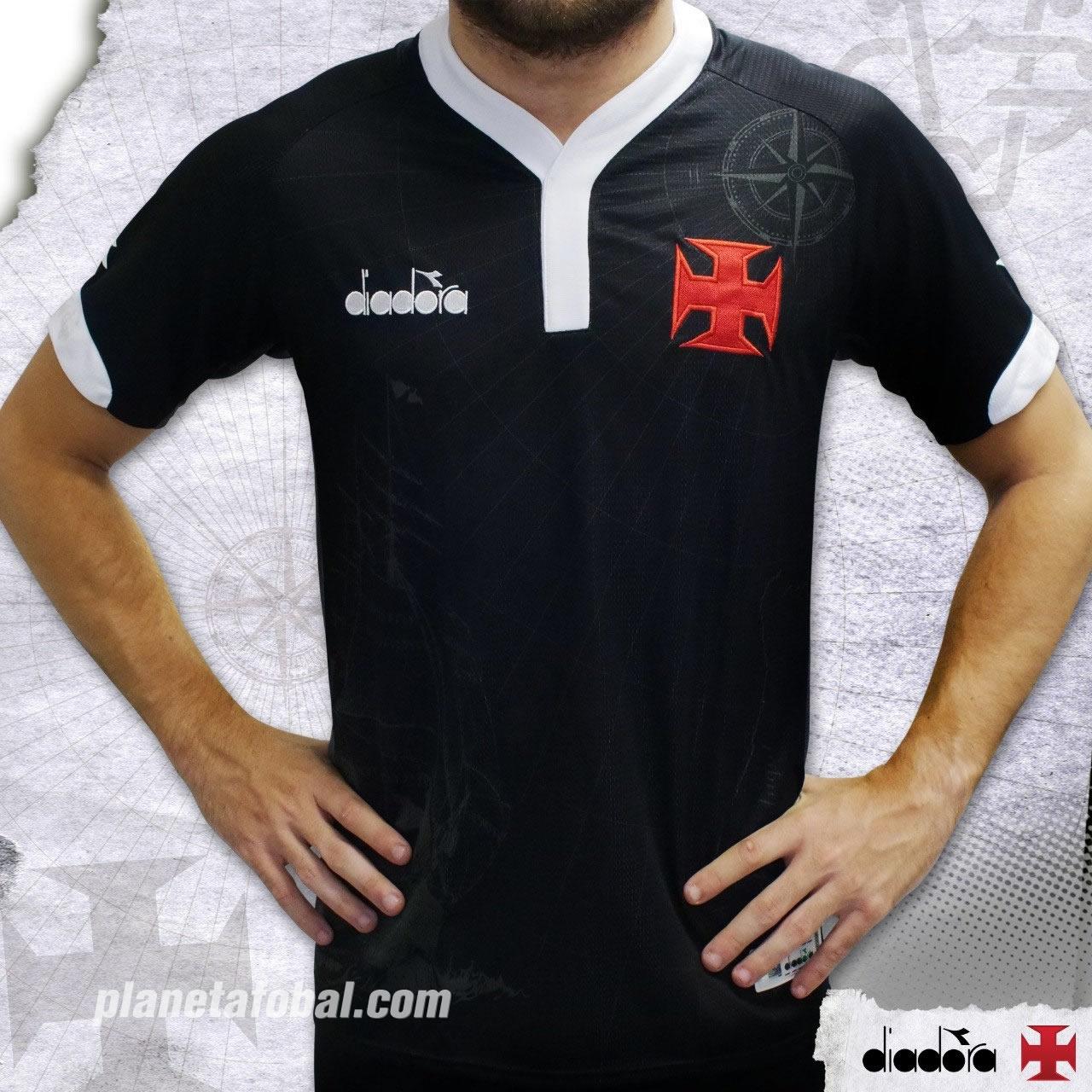 Tercera camiseta Diadora del Vasco Da Gama | Imagen Web Oficial