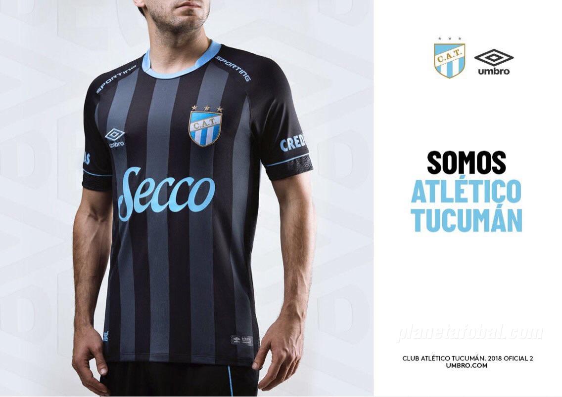 Camiseta alternativa Umbro de Atlético Tucumán 2018/19 | Imagen Twitter Oficial