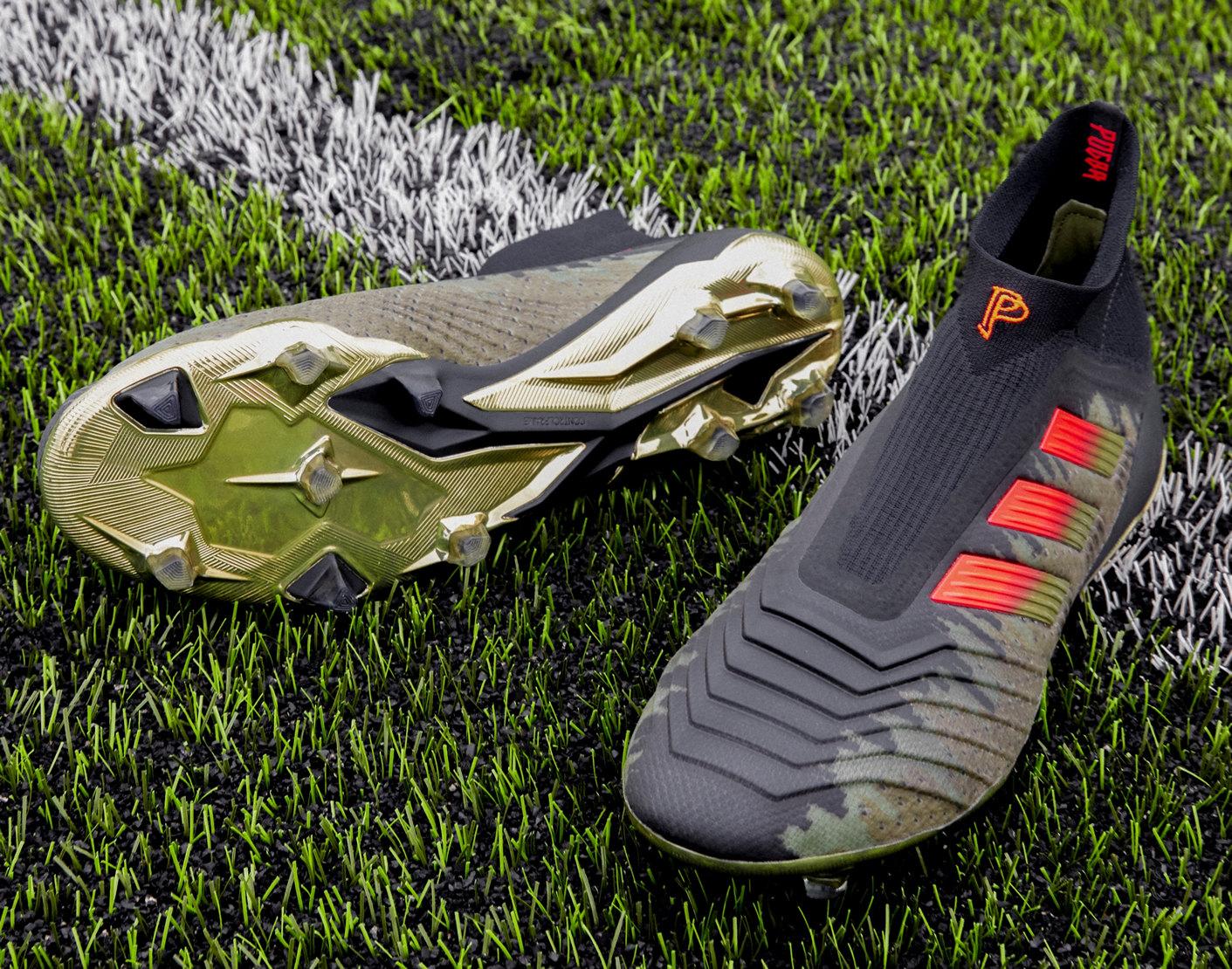 Botines Predator18+ de Paul Pogba 2018/19 | Imagen Adidas