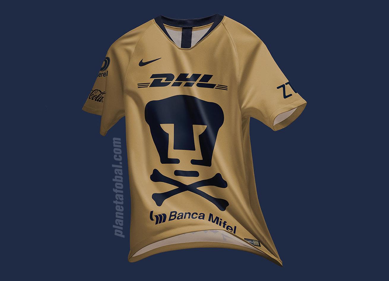 Camiseta Edición Especial Nike de los Pumas de la UNAM 2018 | Imagen Web Oficial
