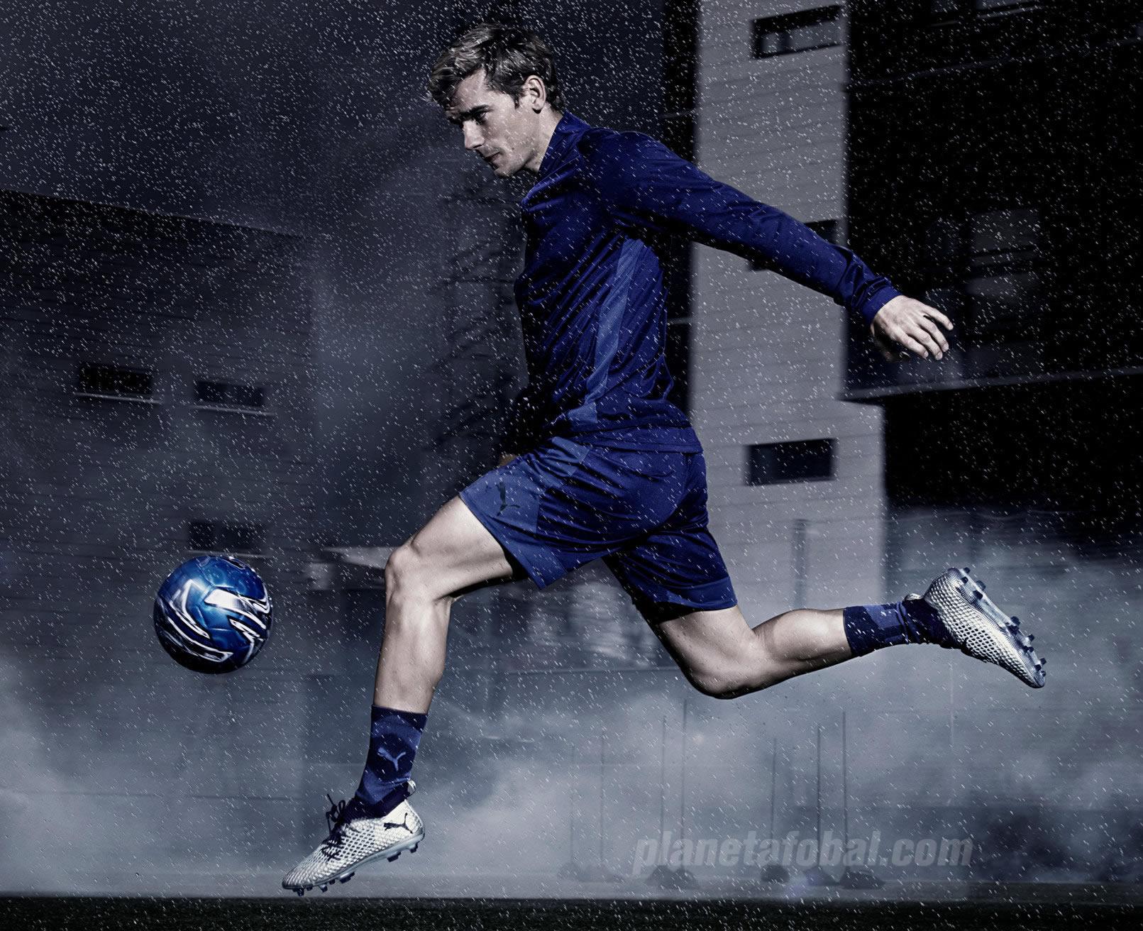"Antoine Griezmann con los botines ""Stun Pack"" FUTURE | Imagen Puma"