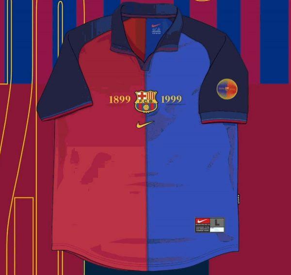Camiseta titular de la Temporada 1999/00 | Imagen Nike