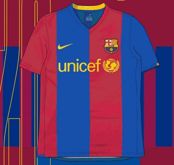 Camiseta titular de la Temporada 2018/09 | Imagen Nike