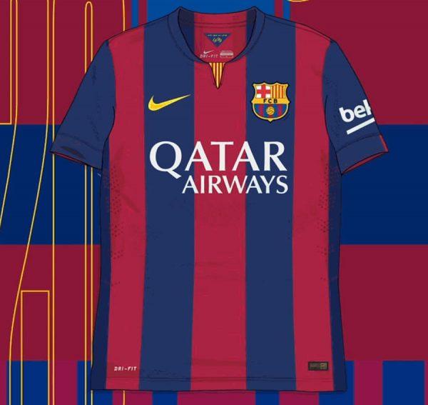 Camiseta titular de la Temporada 2014/15 | Imagen Nike