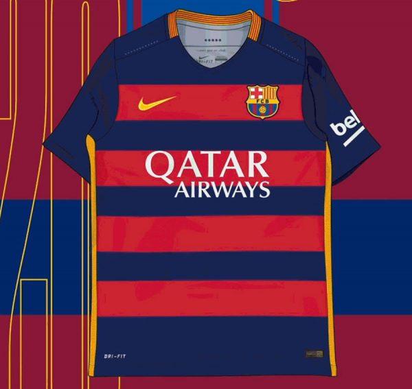 Camiseta titular de la Temporada 2015/16 | Imagen Nike