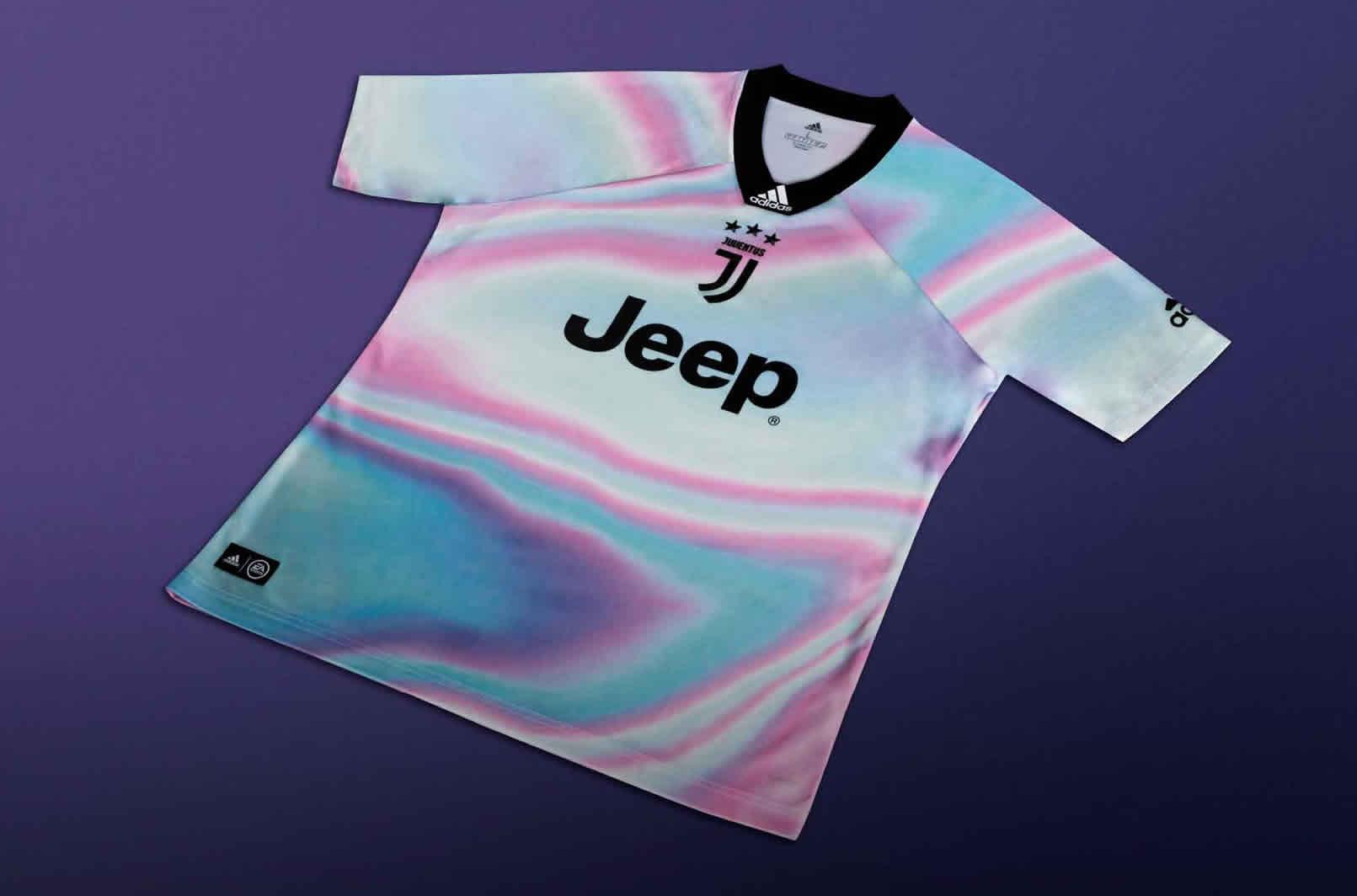 Camiseta Adidas de la Juventus x EA Sports 2018 | Imagen Web Oficial