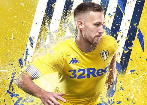 Tercera camiseta Kappa del Leeds United 2018/19   Imagen Web Oficial