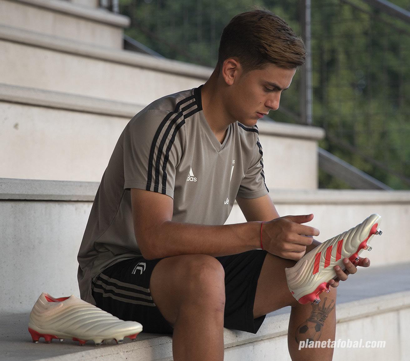 Paulo Dybala con los nuevos botines COPA 19+ | Imagen Adidas