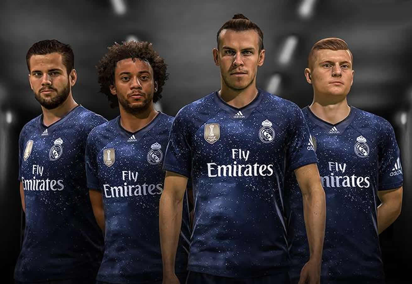 Camiseta Adidas del Real Madrid x EA Sports 2018 | Imagen EA