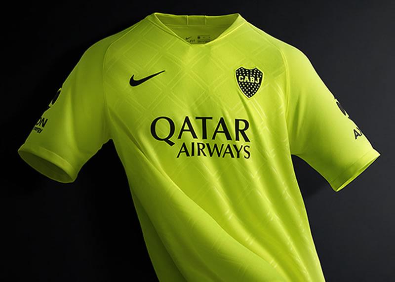 Tercera camiseta Nike de Boca Juniors 2018/2019 | Imagen Web Oficial