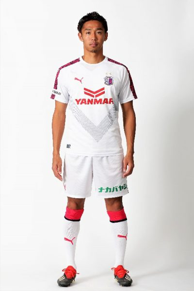 Camiseta suplente 2019 del Cerezo Osaka | Imagen Web Oficial