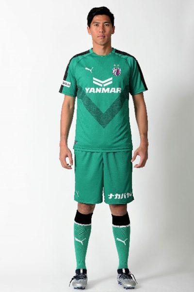 Camiseta arquero 2019 del Cerezo Osaka | Imagen Web Oficial