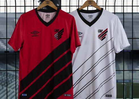 Camisetas Umbro del Club Athletico Paranaense 2019   Imagen Facebook Oficial