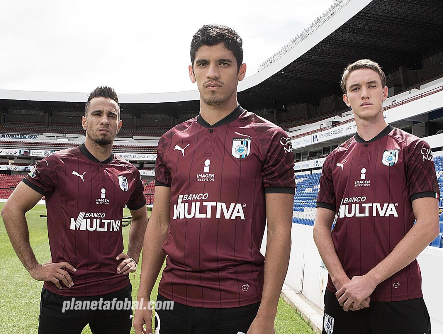 Tercera camiseta Puma del Club Querétaro 2018/19 | Imagen Twitter Oficial
