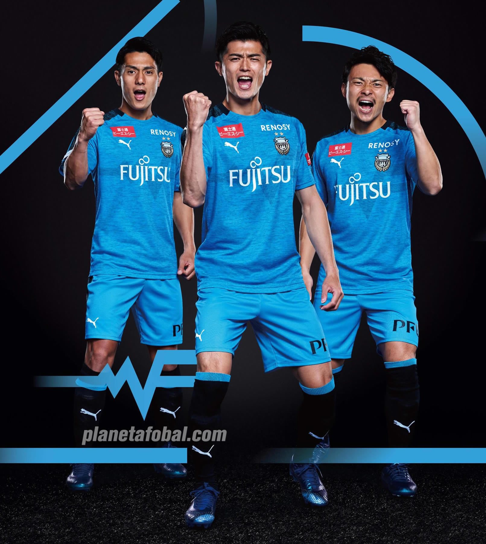 Camiseta titular 2019 del Kawasaki Frontale | Imagen Puma