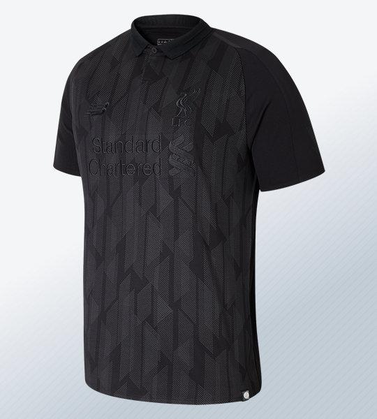 "Camiseta New Balance ""Blackout"" del Liverpool 2018/19 | Imagen Web Oficial"