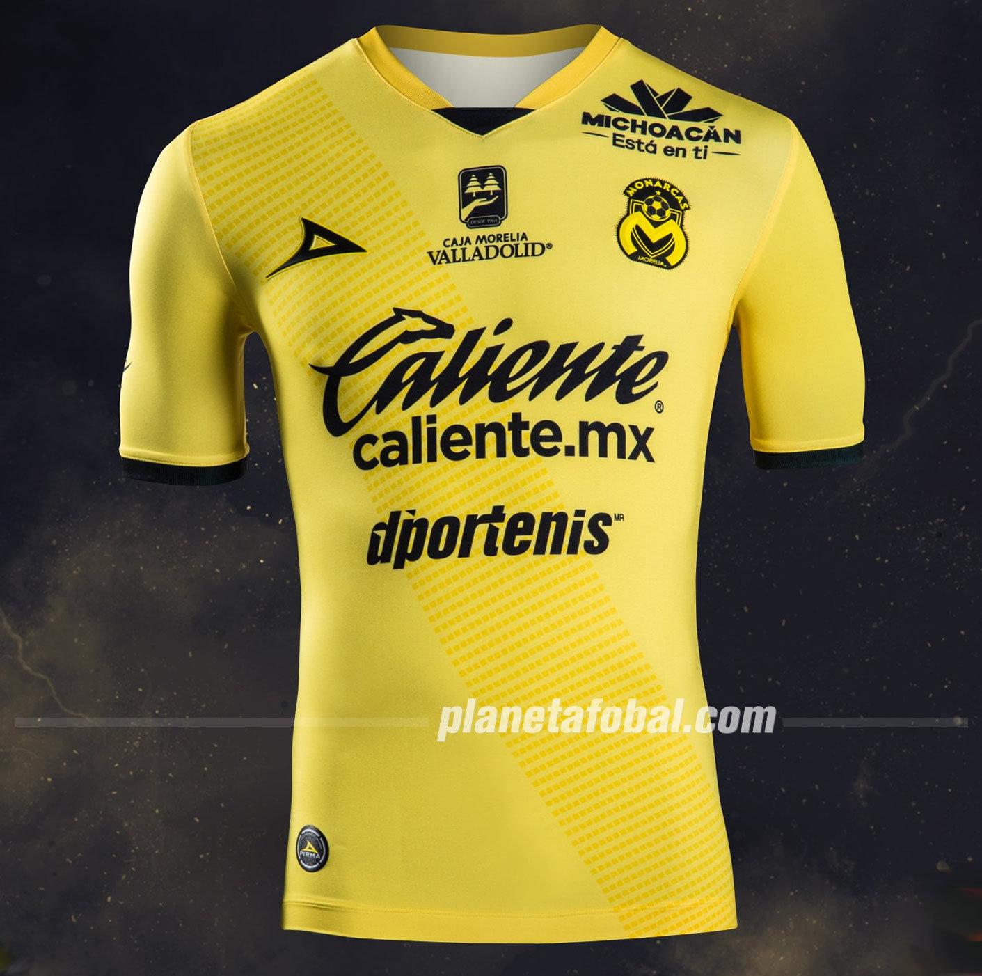 Tercera camiseta de los Monarcas Morelia 2018/19 | Imagen Pirma