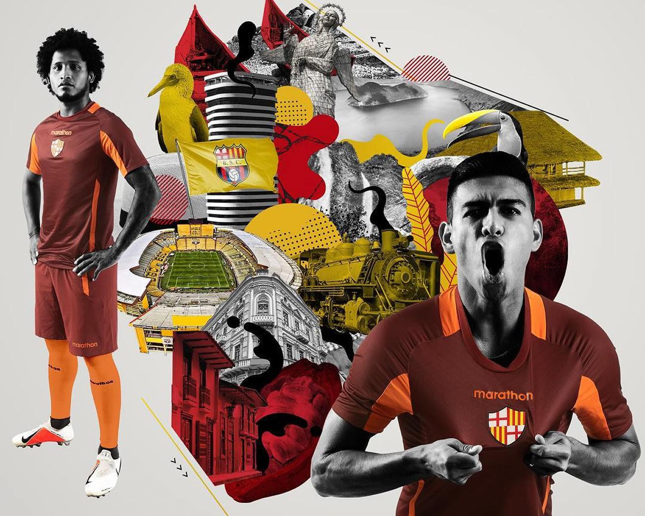 Camiseta alterna del Barcelona SC 2019 | Imagen Marathon Sports