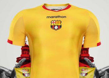 Camiseta titular del Barcelona SC 2019 | Imagen Marathon Sports