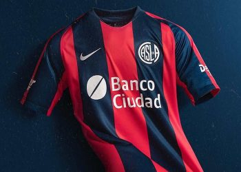 Camiseta titular Nike de San Lorenzo 2019 | Imagen Instagram Oficial