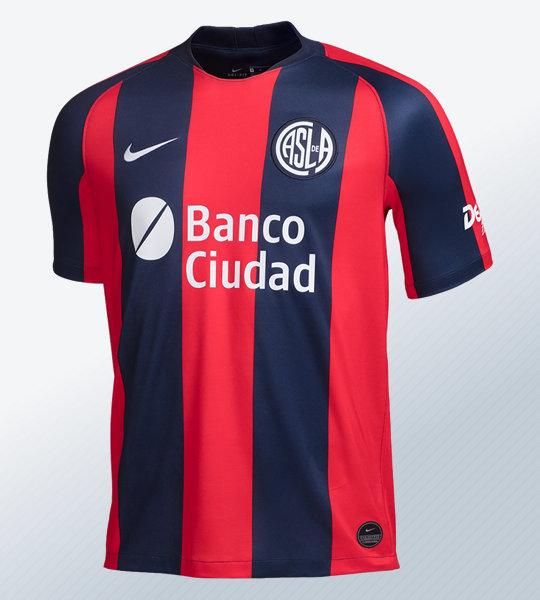 Camiseta titular Nike de San Lorenzo 2019   Imagen Web Oficial