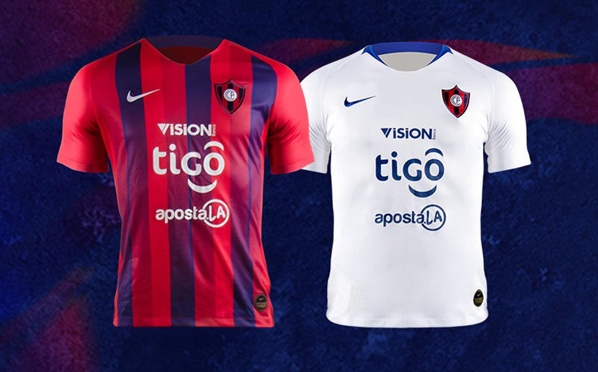 Camisetas Nike de Cerro Porteño 2019 | Imagen Meta Sports