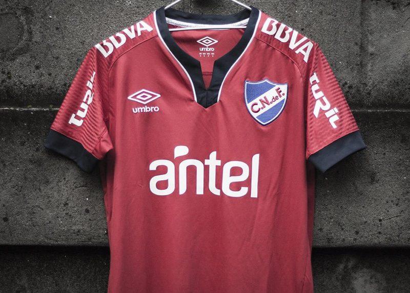 Camiseta suplente Umbro de Nacional 2019 | Imagen Twitter Oficial