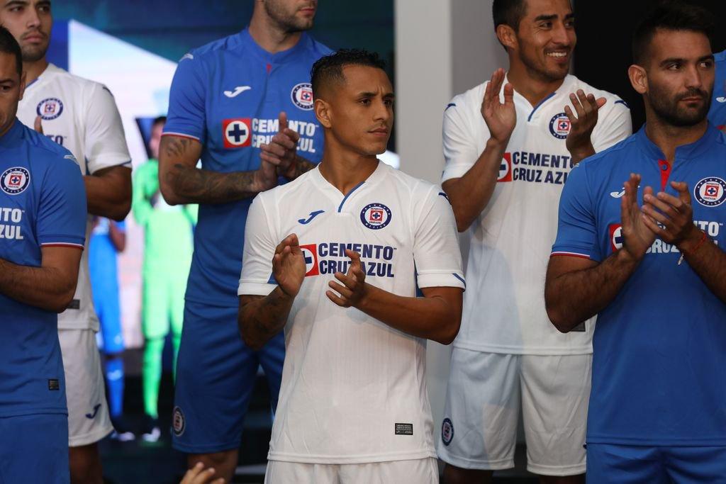 Camisetas Joma del Cruz Azul 2019 | Imagen Twitter Oficial