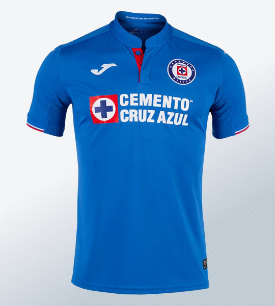 Camisetas titular Joma del Cruz Azul 2019 | Imagen Twitter Oficial