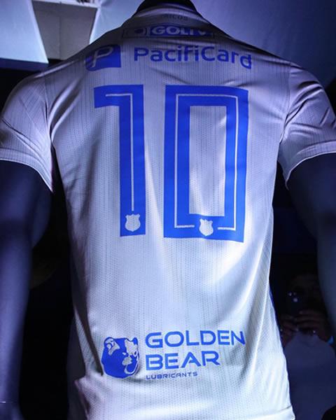 Camiseta alterna Adidas del Emelec 2019 | Imagen Twitter Oficial