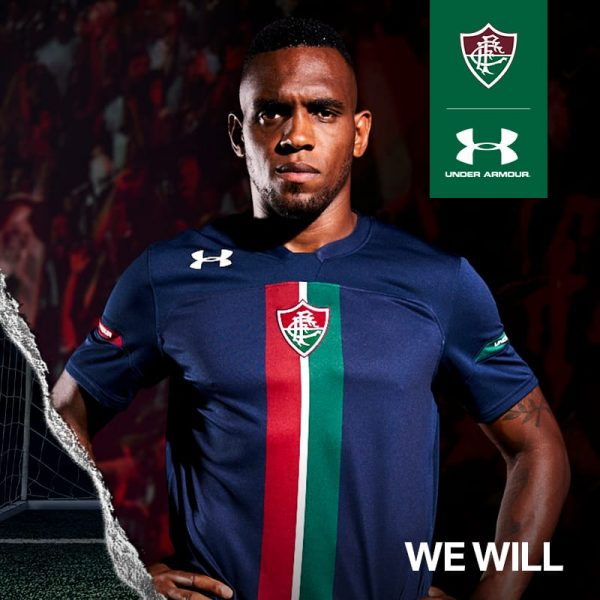 Tercera camiseta Under Armour del Fluminense 2019 | Imagen Web Oficial