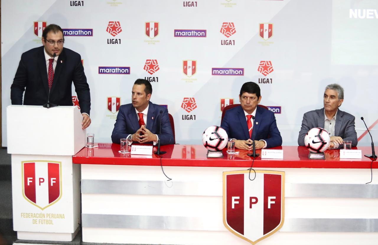 Logo de la Liga 1, el nuevo torneo peruano | Imagen Twitter FPF