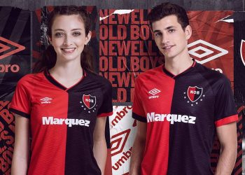 Camiseta titular de Newell's 2019 | Imagen Umbro