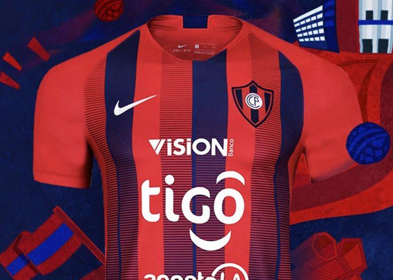 Camiseta titular Nike de Cerro Porteño 2019   Imagen Twitter Oficial