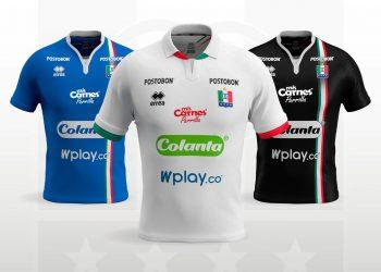 Nuevas camisetas del Once Caldas 2019 | Imagen Erreà