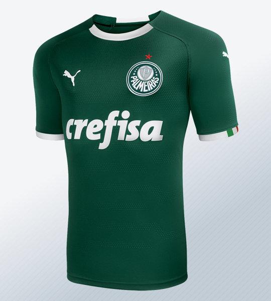 Camiseta titular Puma del Palmeiras 2019 | Imagen Web Oficial