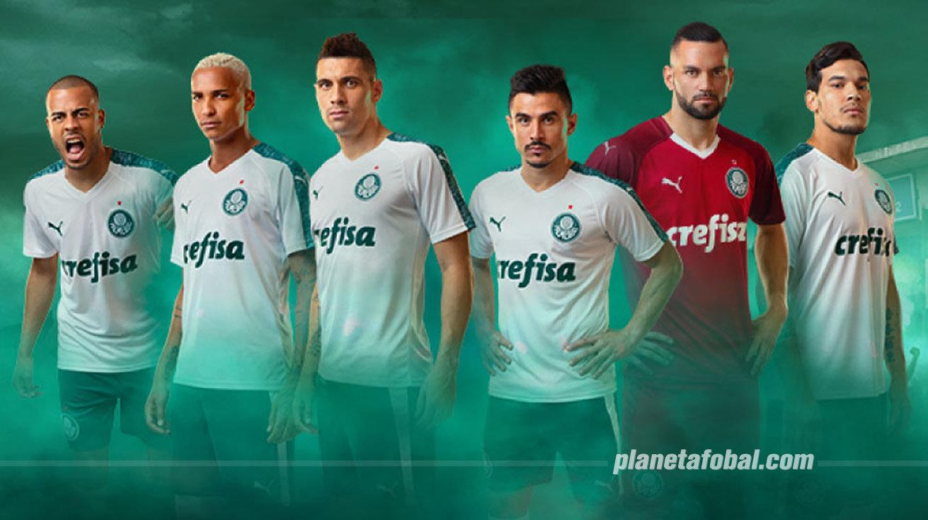 Camiseta suplente Puma del Palmeiras 2019 | Imagen Web Oficial