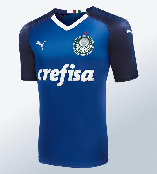 Camiseta de arquero Puma del Palmeiras 2019 | Imagen Web Oficial